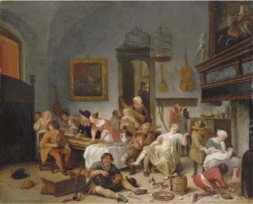 Circle of Jan Steen (Leiden 1626-1679)
