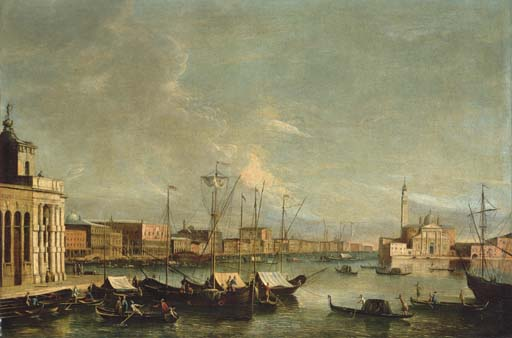 The Master of the Langmatt Foundation Views Apollonio Domenichini (?) (Venice 1715-c.1770)