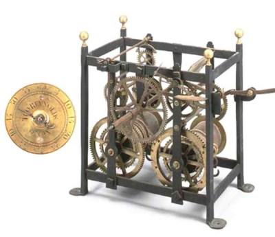 An early George III iron and b