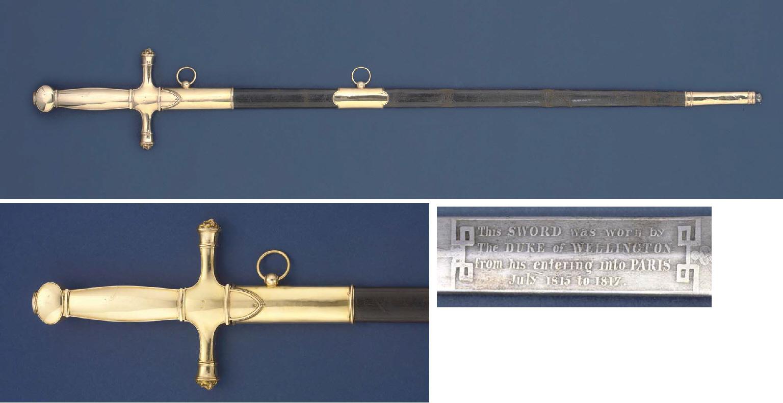 THE WELLINGTON-HARDINGE SWORD