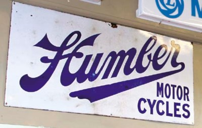 Humber Motor Cycles - An early
