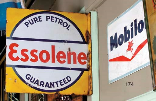 Mobiloil and Firestone - Two p