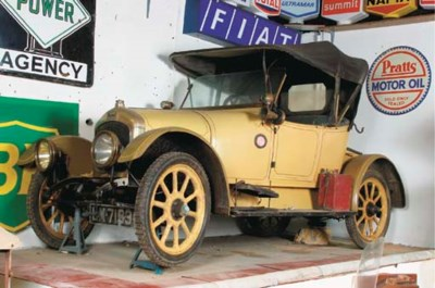 1915 SINGER 10HP TWO SEATER