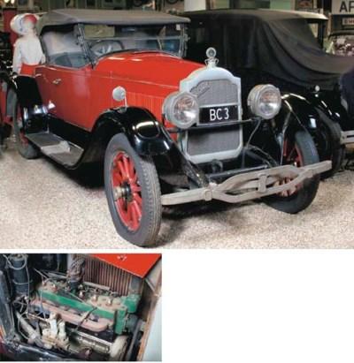 1923 PACKARD 'SINGLE-SIX' 27.3