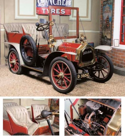 1907 DE DION BOUTON 8HP TYPE B