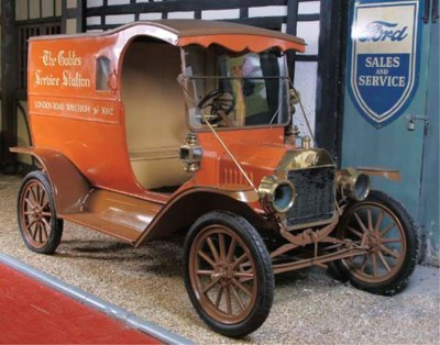 c.1918 FORD MODEL T PROMOTIONA