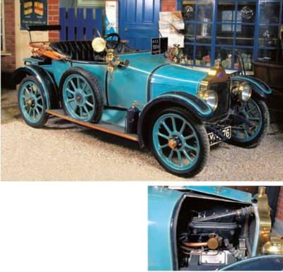 1914 CALCOTT 10½HP TWO SEATER