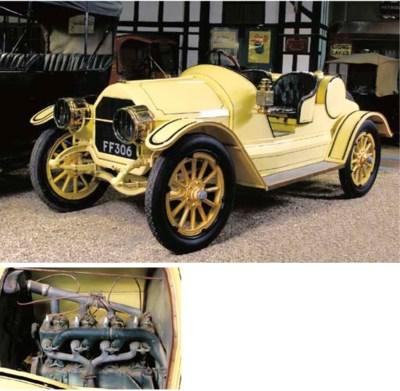 c.1915 OVERLAND 27HP MODEL 83