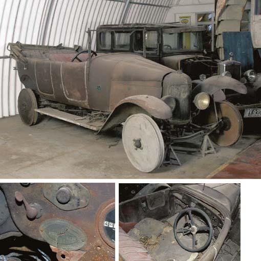 c.1919 CARROW 11.9hp FOUR SEAT