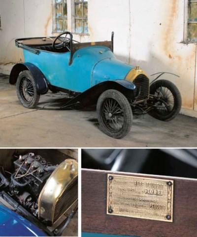 1912 PEUGEOT BÉBÉ 6HP TYPE BP1