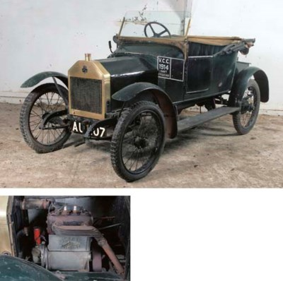 1914 SWIFT 7HP TWO SEATER CYCL