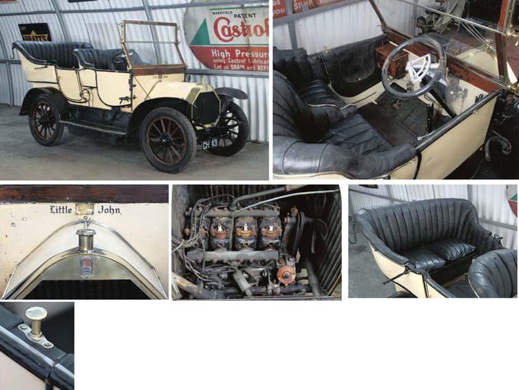 1906 HUMBER 10-12 HP TOURER
