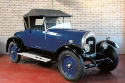 c.1926 CUBITT 15.9hp TWO SEATE