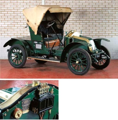 1909 RENAULT 8HP TYPE AX TWO S