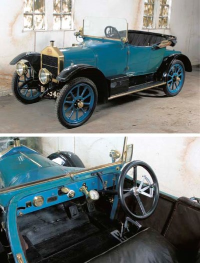 1914 SINGER 10 HP TWO SEATER