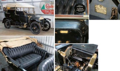 1911 WOLSELEY 12-16HP 'FLUSH-S