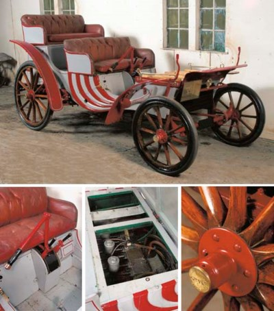 1904 BRITISH DURYEA THREE CYLI