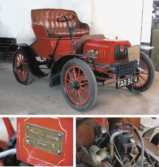 1904 POPE-TRIBUNE 7HP MODEL II