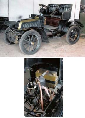 1905 DE DION BOUTON 6HP TYPE Y