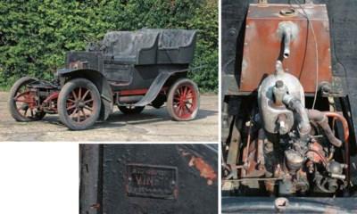 1905 CORRE 8HP REAR ENTRANCE T