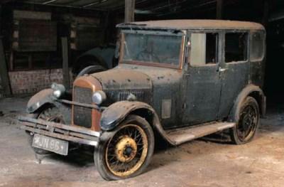 1930 SINGER JUNIOR FOUR DOOR S