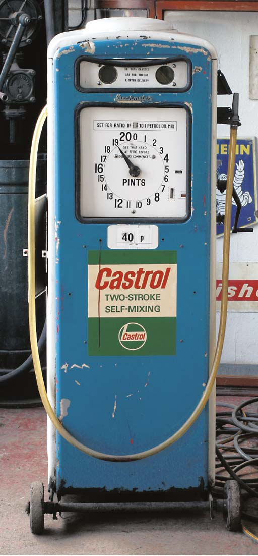 Castrol - A forecourt 2-Strok