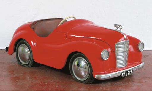 Austin J40 - An early post-war