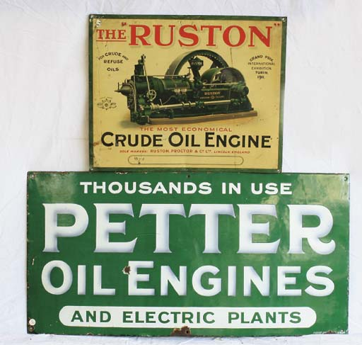 Petter Oil Engines and Ruston