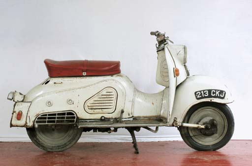 1958 Bella Scooter