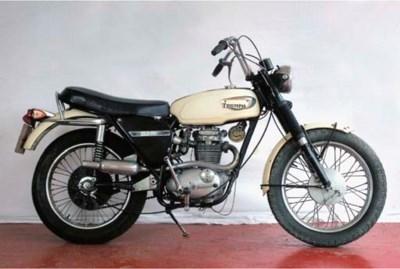 1968 Triumph Trophy 250