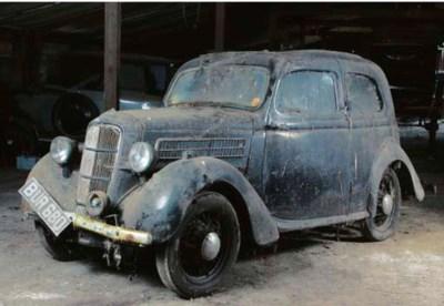 1936 FORD CX 10HP TUDOR SALOON