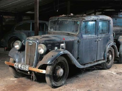 1936 AUSTIN 12/4 FOUR DOOR SAL