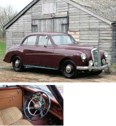 1958 WOLSELEY 15/50 FOUR DOOR