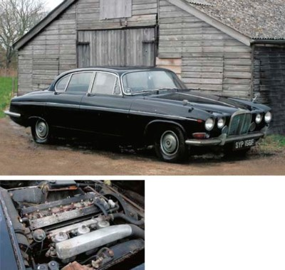 1967 JAGUAR 420G FOUR-DOOR SAL