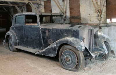 1933 ROLLS-ROYCE 20/25HP FOUR
