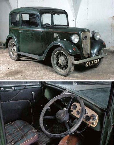 1933 AUSTIN SEVEN RUBY TWO DOO