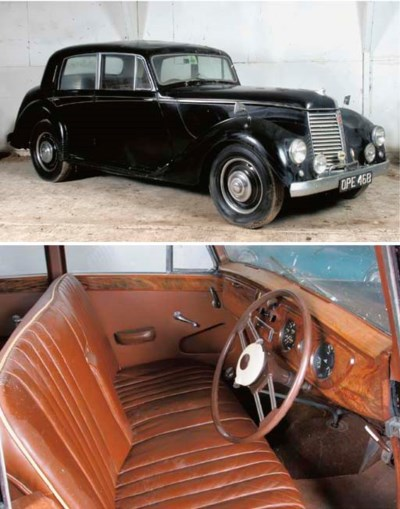 1952 ARMSTRONG-SIDDELEY WHITLE