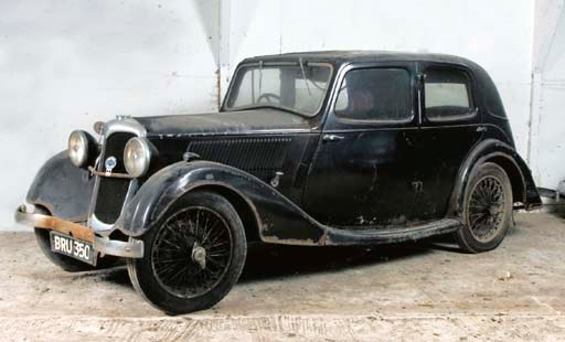 1936 RILEY 9HP MERLIN FOUR DOO