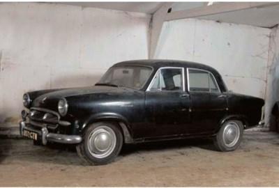 1955 STANDARD VANGUARD III FOU