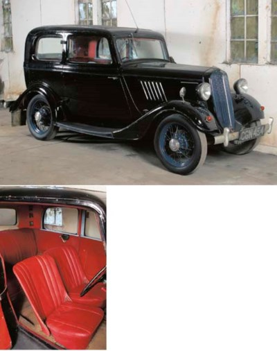 1935 FORD Y TYPE TUDOR SALOON