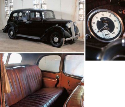 1939 AUSTIN 14/6 FOUR DOOR SAL