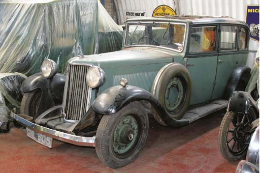 1935 ARMSTRONG SIDDELEY FOUR D
