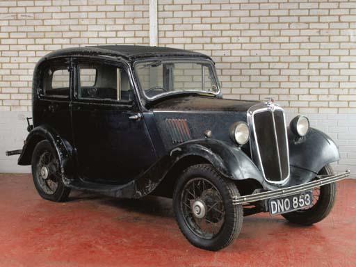 1936 MORRIS 8HP SALOON