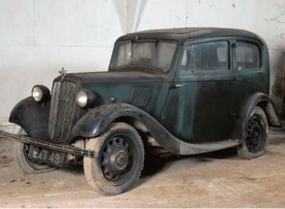 1938 MORRIS 8HP SALOON