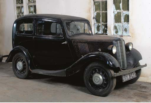 1937 MORRIS 8HP SALOON