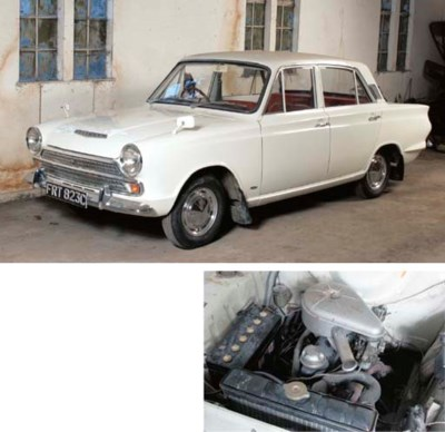 1965 FORD CORTINA DELUXE FOUR-