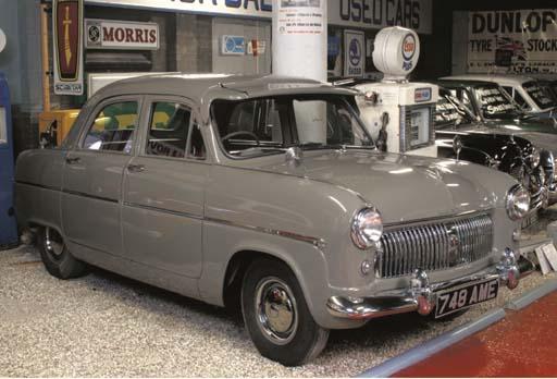 1953 FORD CONSUL FOUR-DOOR SAL