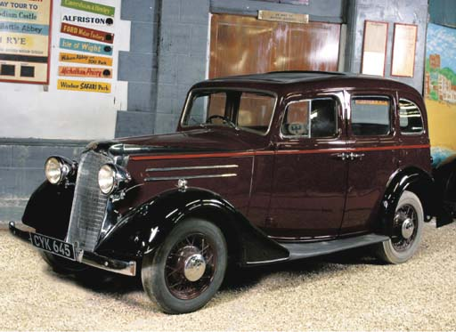 1936 VAUXHALL MODEL DX 'LIGHT