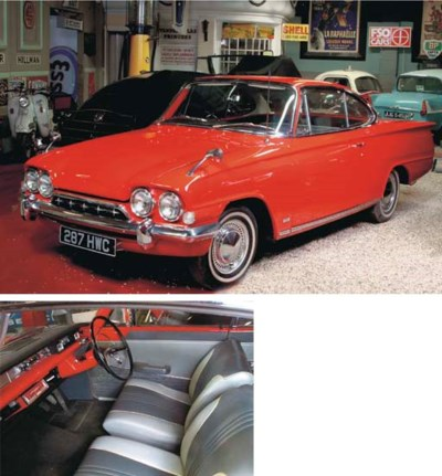 1963 FORD CLASSIC CAPRI DELUXE