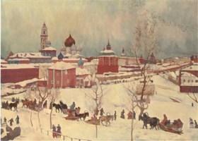 Attributed to Konstantin Fedorovich Iuon [Yuon] (1875-1958)